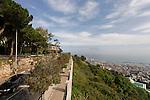 Israel, Carmel. View from Yefe Nof Street in Haifa