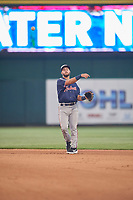 Tyler Depreta-Johnson (22) of the Nashville Sounds during the game against the Reno Aces at Greater Nevada Field on June 5, 2019 in Reno, Nevada. The Aces defeated the Sounds 3-2. (Stephen Smith/Four Seam Images)