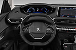 Car pictures of steering wheel view of a 2019 Peugeot 5008 Allure 5 Door SUV Steering Wheel