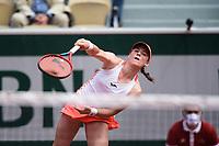 6th June 2021; Roland Garros, Paris France; French Open tennis championships day 8;  Tamara Zidansek ( SLO )