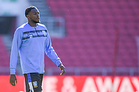 27th September 2020; Ashton Gate Stadium, Bristol, England; English Football League Championship Football, Bristol City versus Sheffield Wednesday; Dominic Iorfa of Sheffield Wednesday warms up
