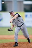 Lake County starting pitcher Ryan Morris (43) in action versus Kannapolis at Fieldcrest Cannon Stadium in Kannapolis, NC, Saturday, August 11, 2007.