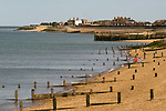 Sheerness beach. Isle of Sheppey Kent UK. 2014.