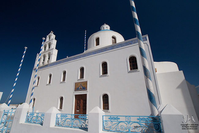 Church in the Main Square in Oia