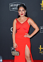 LOS ANGELES, USA. November 04, 2019: Qorianka Kilcher at the 23rd Annual Hollywood Film Awards at the Beverly Hilton Hotel.<br /> Picture: Paul Smith/Featureflash