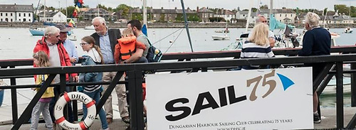 Dungarvan Sailing Club in County Waterford celebrates its 75th birthday in 2021