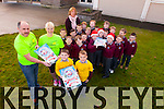 Getting ready for the 4th annual Kerry Crusader 5k Jingle Bell Run in Listowel on December 14th were: Gordon Flannery (Kerry Crusaders), Rochelle Griffin, Siobhan O'Mahony (teacher), Barry O'Leary and Ethan Flannery with first class pupils from the Boys school Listowel.