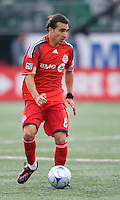02 May 2009: Toronto FC forward Pablo Vitti #8 in action at BMO Field in a game between the Columbus Crew and Toronto FC. .The game ended in a 1-1 draw...