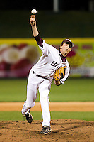 J.C. Casey (21) of the Missouri State Bears during a game vs. the Western Illinois Leathernecks at Hammons Field in Springfield, Missouri;  March 18, 2011.  Photo By David Welker/Four Seam Images