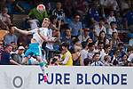 Newcastle United vs Eastern during the Main tournament of the HKFC Citi Soccer Sevens on 22 May 2016 in the Hong Kong Footbal Club, Hong Kong, China. Photo by Li Man Yuen / Power Sport Images