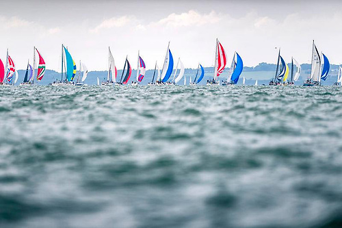 Predominantly corinthian sailors will battle it out in the 70-strong IRC Four fleet on some of the smallest boats in the Rolex Fastnet Race