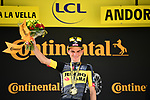 Sepp Kuss (USA) Jumbo-Visma wins Stage 15 of the 2021 Tour de France, running 191.3km from Ceret to Andorre-La-Vieille, France. 11th July 2021.  <br /> Picture: A.S.O./Pauline Ballet | Cyclefile<br /> <br /> All photos usage must carry mandatory copyright credit (© Cyclefile | A.S.O./Pauline Ballet)