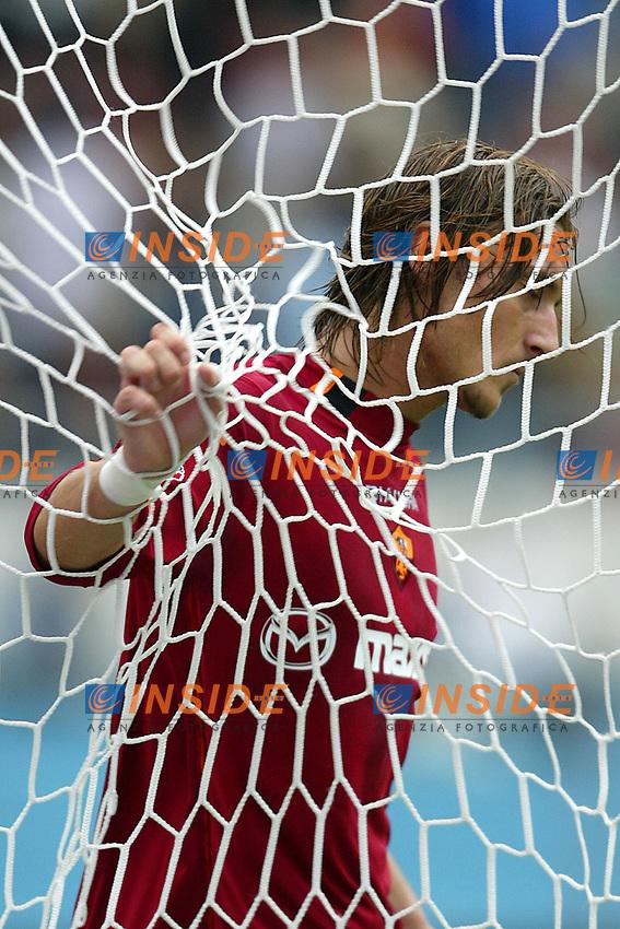 Roma 28/9/2003 Roma Ancona 3-0 <br /> Francesco Totti (Roma)<br /> Foto Andrea Staccioli Insidefoto