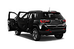 Car images close up view of a 2017 Jeep New Compass Trailhawk 5 Door SUV doors