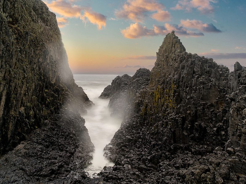 Rock formations at Seal Rock. Oregon