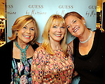 """From left: Marnie Hogan, Brenda Love and """"Puff"""" Fried at the Young at Heart party at the Guess by Marciano store at the Galleria  Wednesday March 24,2010. (Dave Rossman Photo)"""