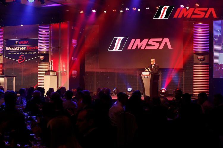 IMSA WeatherTech SportsCar Championship<br /> Night of Champions<br /> Road Atlanta, Braselton GA<br /> Monday 9 October 2017<br /> IMSA CEO Scott Atherton<br /> World Copyright: Michael L. Levitt<br /> LAT Images