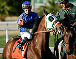 Feb 2010:  Northern Giant and John Jacinto before the Risen Star Stakes at the Fairgrounds in New Orleans, La.