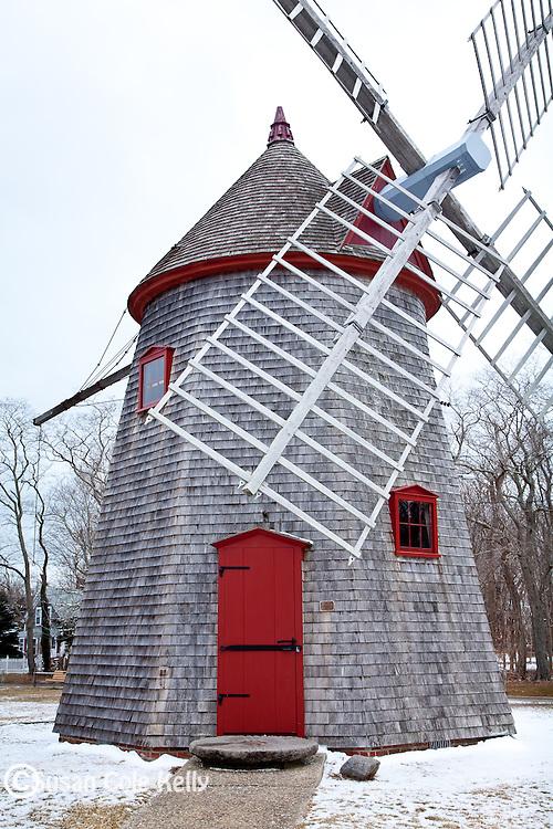 The Eastham Windmill in Eastham, Cape Cod, MA, USA