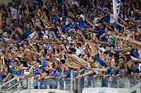 BELO HORIZONTE, MG, 06.04.2019:CRUZEIRO-AMERICA - Torcida durante partida entre Cruzeiro e America, válida pelo jogo de volta das semifinais do campeonato mineiro 2019,  no Estadio Mineirão em Belo Horizonte, MG, na noite deste sábado (06) (foto Giazi Cavalcante/Codigo19)