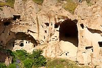 Early Christian monasteries of Zelve, Cappadocia Turkey