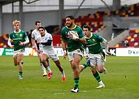 6th February 2021; Brentford Community Stadium, London, England; Gallagher Premiership Rugby, London Irish versus Gloucester; Curtis Rona of London Irish