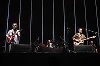 SÃO PAULO, SP 18.05.2019: LOS HERMANOS-SP - A banda Los Hermanos, formada por Marcelo Camelo, Rodrigo Amarante, Bruno Medina e Rodrigo Barba, se apresentou no Allianz Parque, zona oeste da capital paulista, na noite deste sábado (18). O show contou com a língua brasileira de sinais (Libras). (Foto: Ale Frata/Codigo19)