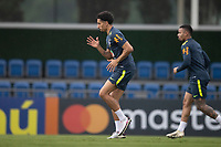 11th November 2020; Granja Comary, Teresopolis, Rio de Janeiro, Brazil; Qatar 2022 qualifiers; Marquinhos of Brazil during training session in Granja Comary