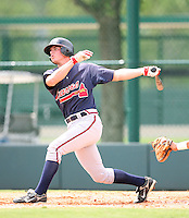 August 12, 2008: Jake hanson of the GCL Braves.  Photo by: Chris Proctor/Four Seam Images