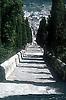 365 steps from the calvary hill to the town of Pollença / Pollensa<br /> <br /> 365 escaleras desde el calvario a la ciudad de Pollença / Pollensa<br /> <br /> 365 Stufen vom Kalvarienberg in die Stadt Pollença / Pollensa<br /> <br /> Original: 35 mm slide transparancy