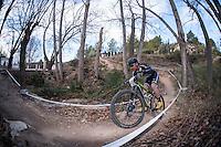 Chelva, SPAIN - MARCH 6: Jose Antonio Ruiz during Spanish Open BTT XCO on March 6, 2016 in Chelva, Spain