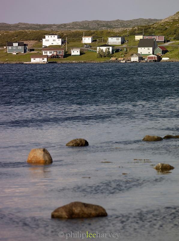 Bay at St Anthony, Newfoundland and Labrador, Canada