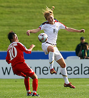 Sam Mewis (USA)..FIFA U17 Women's World Cup Final, USA v Korea DPR, Albany Stadium, Auckland, New Zealand, Sunday 16 November 2008. Photo: Renee McKay/PHOTOSPORT