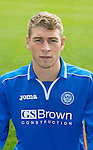 St Johnstone FC 2013-14<br /> David Wotherspoon<br /> Picture by Graeme Hart.<br /> Copyright Perthshire Picture Agency<br /> Tel: 01738 623350  Mobile: 07990 594431