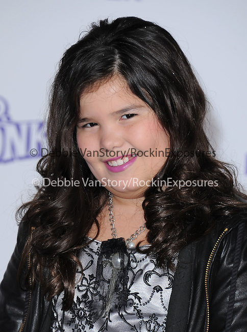 "Maddie Lovato attends the Paramount Pictures' L.A. Premiere of ""JUSTIN BIEBER: NEVER SAY NEVER."" held at The Nokia Theater Live in Los Angeles, California on February 08,2011                                                                               © 2010 DVS / Hollywood Press Agency"