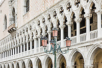 Doge's Palace detail, Venice, Italy