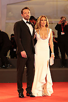 """Venice, Italy - September 10: Ben Affleck and Jennifer Lopez attend the Red Carpet of 20th Century Studios' movie """"The Last Duel"""" during the 78th Venice International Film Festival on September 10, 2021 in Venice, Italy. <br /> CAP/MPI/AF<br /> ©AF/MPI/Capital Pictures"""