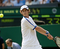 30-6-06,England, London, Wimbledon, third round match,  Andy Murray