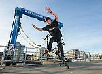 Matti Hemmings - Flatland BMX - Portsahead - Bristol - UK <br /> <br /> Photographer - Ian Cook IJC Photography