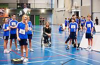 03-01-13, Rotterdam, Tennis, Selection ballkids for ABNAMROWTT,Esther Vergeer