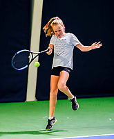 Hilversum, Netherlands, December 3, 2017, Winter Youth Circuit Masters, 12,14,and 16 years, Britt de Pree (NED)<br /> Photo: Tennisimages/Henk Koster