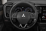 Car pictures of steering wheel view of a 2020 Mitsubishi Outlander SEL 5 Door SUV Steering Wheel