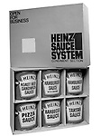 Client: Heinz Foods<br /> Ad Agency: Ketchum, MacLeod @ Grove<br /> Contact: Mrs. Kaesmeier<br /> Product: Heinz Sauce System<br /> Location: Brady Stewart Studio, 211 Empire Building in Pittsburgh