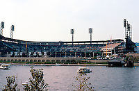 Ballparks: Pittsburgh--PNC Park, 2001. Architects: HOK Sport (Kansas City)