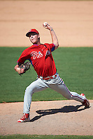Philadelphia Phillies pitcher Bailey Falter (38) during an Instructional League game against the New York Yankees on September 27, 2016 at Bright House Field in Clearwater, Florida.  (Mike Janes/Four Seam Images)