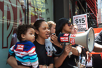 $15 Minimum WageFast Food Workers from 18 Boston MA restaurants join in national and global strike effort demanding $15/hour minimum wages 2014