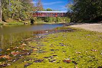 The Coxford Covered Bridge over Sugar Creek; Parke County, IN