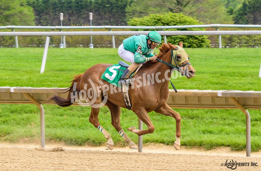 Key Cheyne winning at Delaware Park on 5/4/19