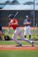 Boston Red Sox Jagger Rusconi (2) during a minor league Spring Training game against the Tampa Bay Rays on March 23, 2016 at Charlotte Sports Park in Port Charlotte, Florida.  (Mike Janes/Four Seam Images)