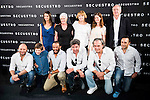 "Full cast of movie during the presentation of the spanish film ""Secuestro"" in Madrid. July 27. 2016. (ALTERPHOTOS/Borja B.Hojas)"